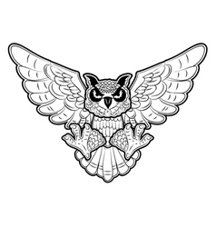 owl2 vector image