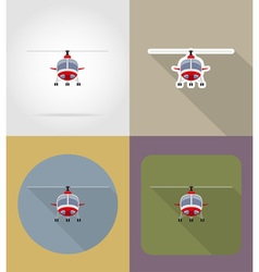 transport flat icons 73 vector image