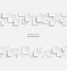 White modern abstract background vector