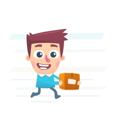 Mail service vector image