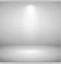 abstract of sport light gray show room background vector image