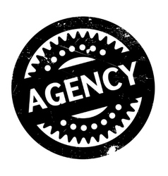Agency rubber stamp vector