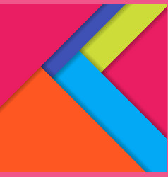 Background modern material design vector