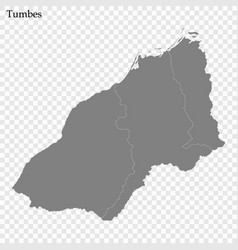 high quality map is a province peru vector image