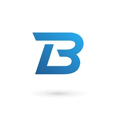 Letter B logo icon vector