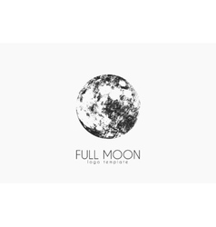 Moon logo design Creative moon logo Night logo vector