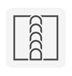 Welding joint icon design vector