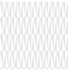 white abstract geometric seamless pattern vector image