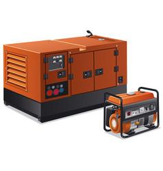 power generators vector image