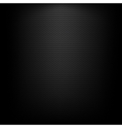 Black woven background vector image
