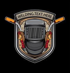 Arc welding logo vector