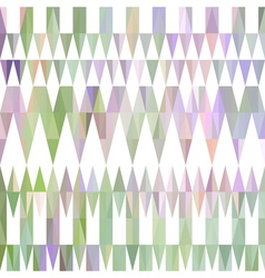 Colorful abstract triangular pattern vector image