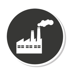 Factory industrial design vector