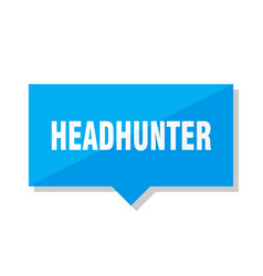 Headhunter price tag vector