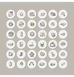 IT icons collection for your design vector