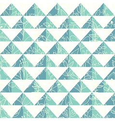pattern geometric with triangle vector image