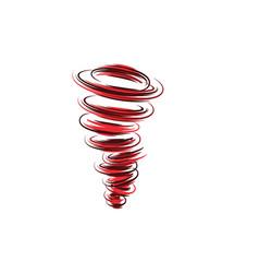 tornado symbol vector image