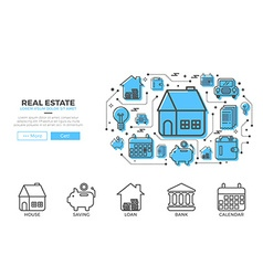 House icons design vector image vector image