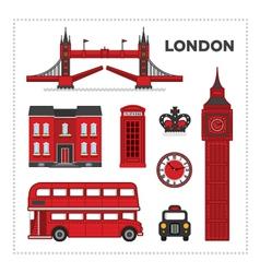 London set vector image