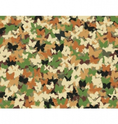 butterfly camouflage vector image