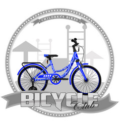A bicycle of a certain type vector