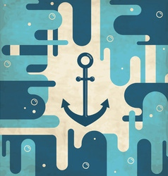 Abstract Anchor Background vector image