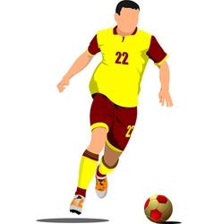 al 0419 soccer 01 vector image