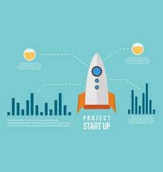 Business infographic graph concept collection vector
