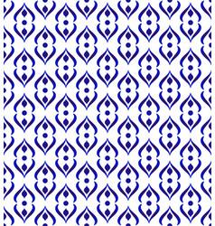 modern blue pattern vector image