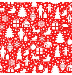 red pattern red vector image