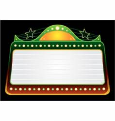 blockbuster template vector image vector image