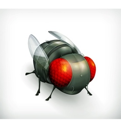 Fly icon vector image vector image