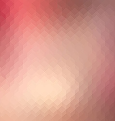 Abstract background with cubes in vintage colors vector image