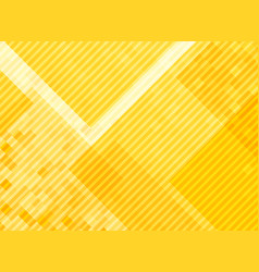 Abstract yellow squares pattern background vector