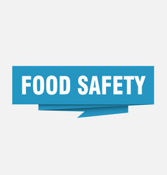 Food safety vector