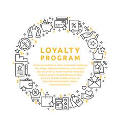 loyalty program vector image