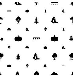 Season icons pattern seamless white background vector