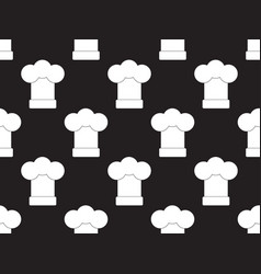chef hat seamless vector image