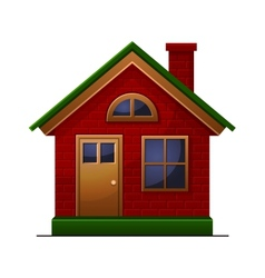 House icon isolated on white background vector image vector image