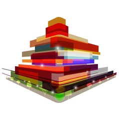 Abstract City vector image