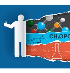 Discovering chemistry vector