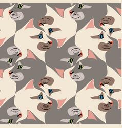 Cat tessellation vector