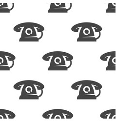 phone seamless pattern vector image