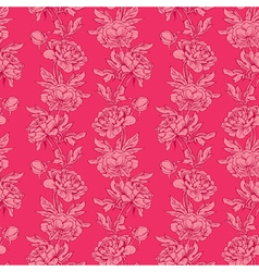pink flowers 4 380 vector image