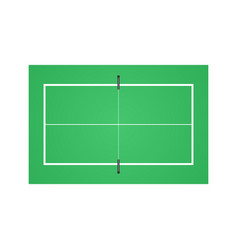 tennis table background vector image