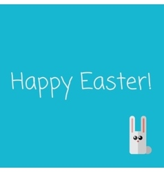 Vetor happy Easter card vector