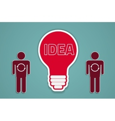 idea sync vector image