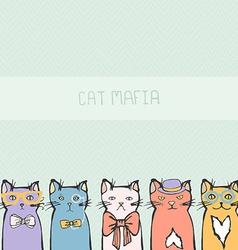 KittyCat13 vector image vector image