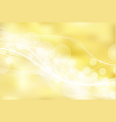gold background and texture with bokeh curve vector image vector image