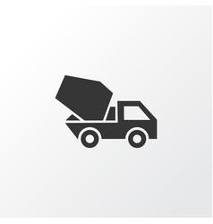 concrete mixer icon symbol premium quality vector image
